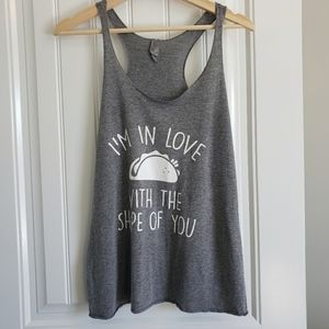 I'm in Love with The Shape of You Graphic Tank Top